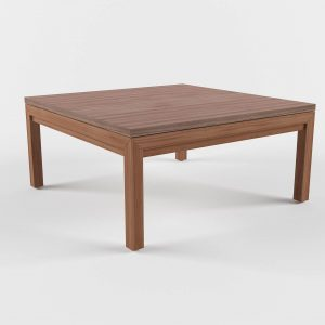 Parsons Square Dining Table 3D Model