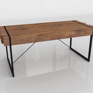 Sabana Dining Table 3D Model