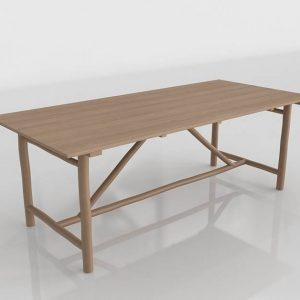 Tuvalu Dining Table 3D Model