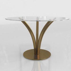 Toledo Dining Table 3D Model