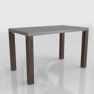 Galvin Dining Table 3D Model