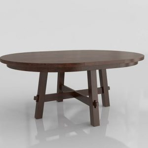 Toscana Dining Table 3D Model