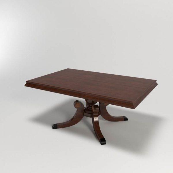 Ivole Dining Table 3D Model