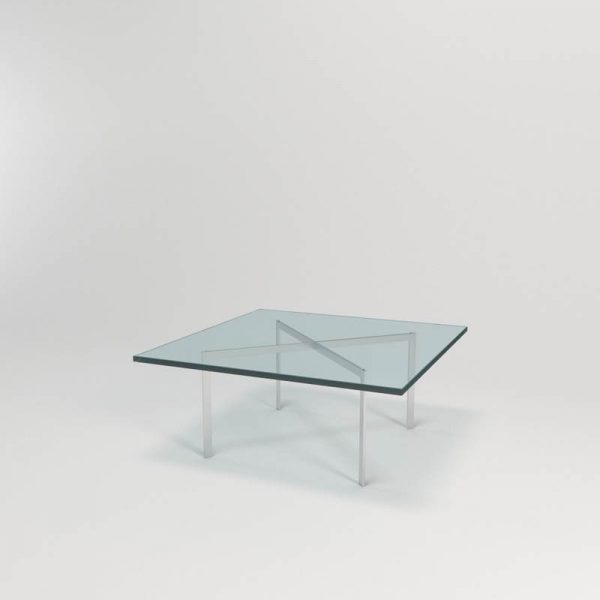 Knoll Glass Dining Table 3D Model