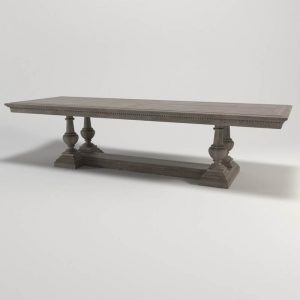 St James Dining Table 3D Model