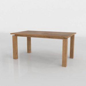 Walker Fog Dining Table 3D Model