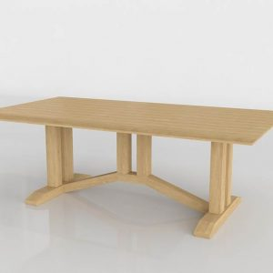 Tokyo Dining Table 3D Model