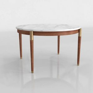Polanco Round Dining Table 3D Model