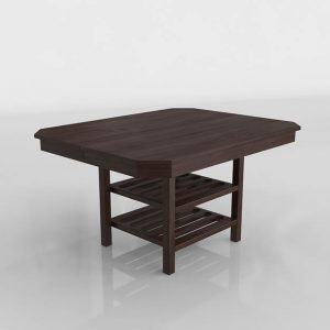 Eixample Dining Table 3D Model