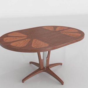 Grapefruit Dining Table 3D Model