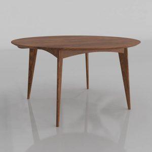 Ventura Dining Table 3D Model