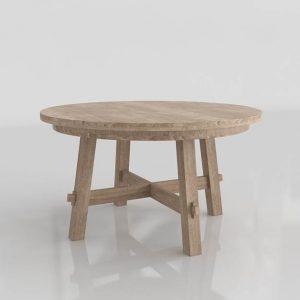 Toscana Seadrift Dining Table 3D Model