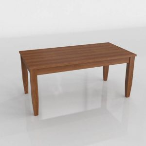 Wessex Dining Table 3D Model