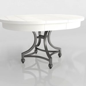 Manor Saguenay Dining Table 3D Model