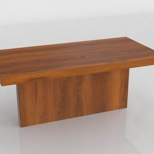 T Style Dining Table 3D Model