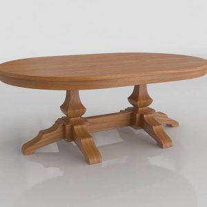 Petaca Dining Table 3D Model