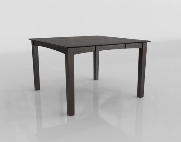 New Jersey Dining Table 3D Model