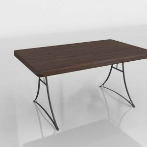 Eiffel Dining Table 3D Model