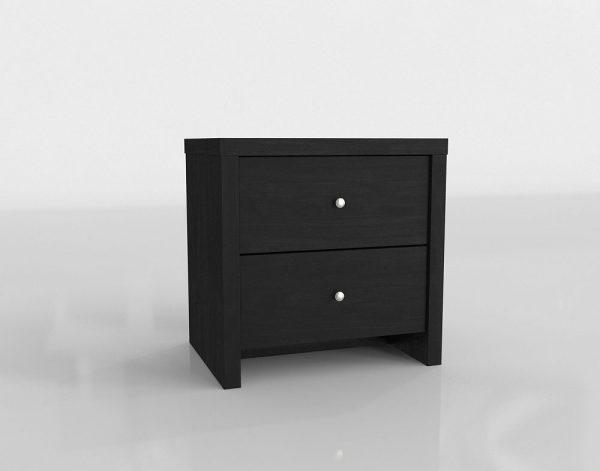 Dark Night Nightstand 3D Model