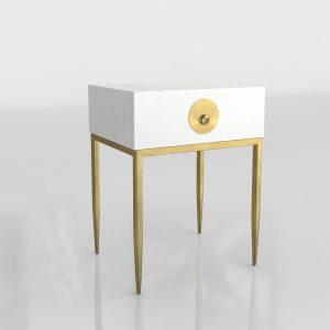 Shenzhen Bedside Table 3D Model