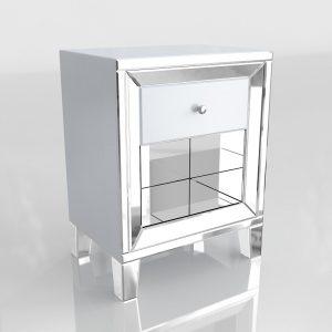 Modelo 3D Mesita de Noche Mali