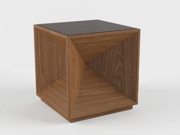Buxton Cube End Table 3D Model