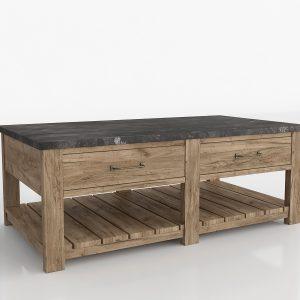 Parker Coffee Table 3D Model