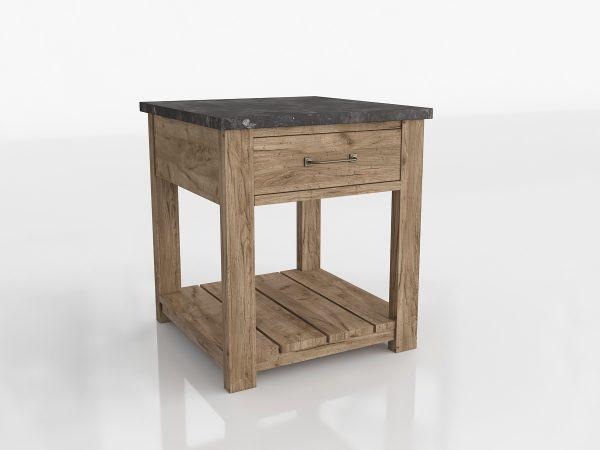 Parker Side Table 3D Model