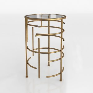 Aiyana End Table 3D Model