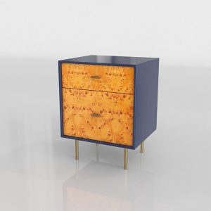 Modernist Nightstand 3D Model