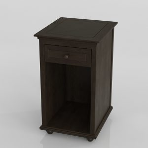 Bedding Side Table 3D Model