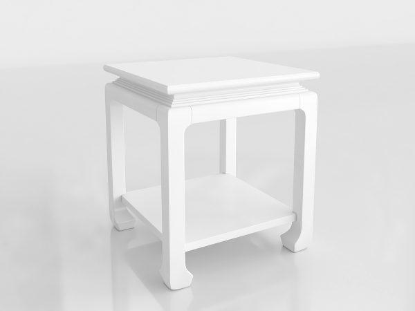 Ming Side Table 3D Model