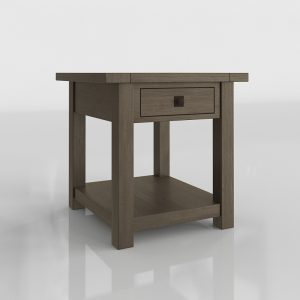Bedding Table 3D Model