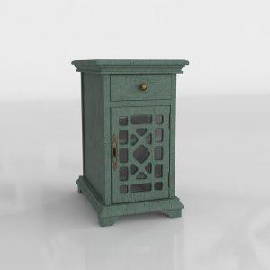 Tower Nightstand 3D Model
