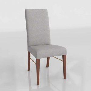 Vanessa 01 Dining Chair 3D Model
