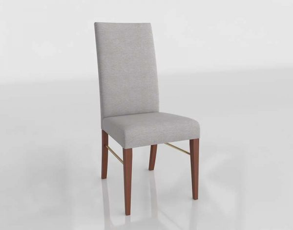 Vanessa 02 Dining Chair 3D Model