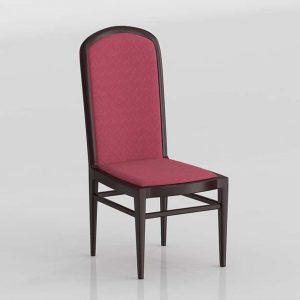 Carola Dining Chair 3D Model