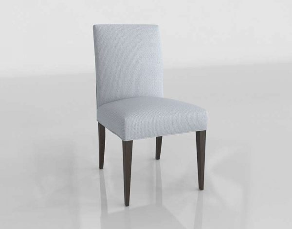Dimple Dove Dining Chair 3D Model
