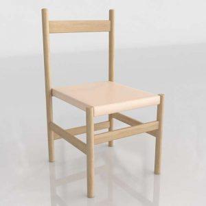 Juniper Dining Chair 3D Model