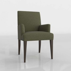 Jonas Kilt Dining Chair 3D Model