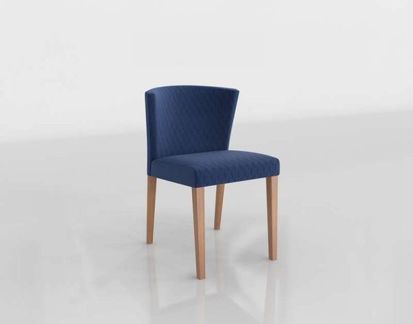 Valentina Dining Chair 3D Model