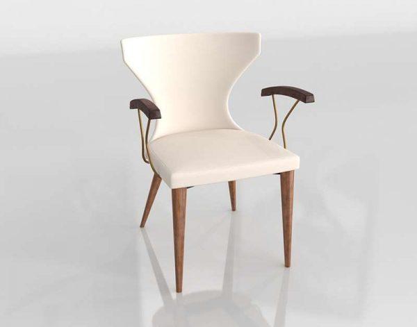 Verdi Dining Armchair 3D Model