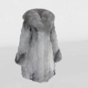 Fox Fur Coat 3D Model