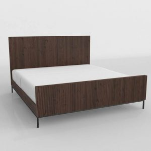 Hunter King Bed 3D Model