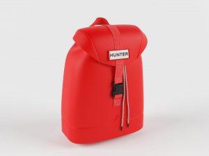 Rubberized Backpack 3D Model