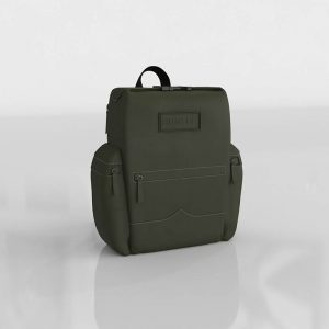 Rubberized Leather Backpack 3D Model