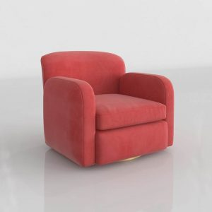 Modelo 3D Sillón Crearte Collections