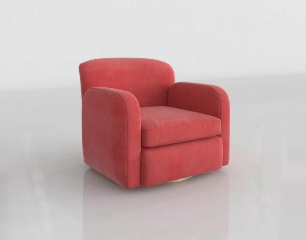 Crearte Collections Armchair 3D Model