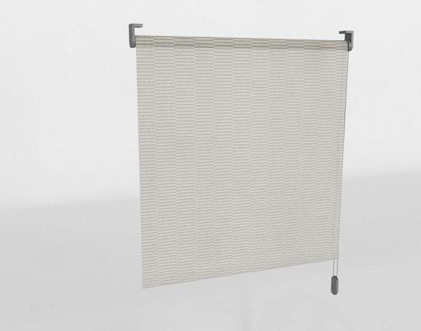 Gray Roller Blinds 3D Model