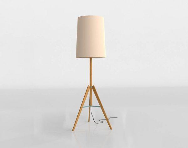 Tripod Lamp 3D Model